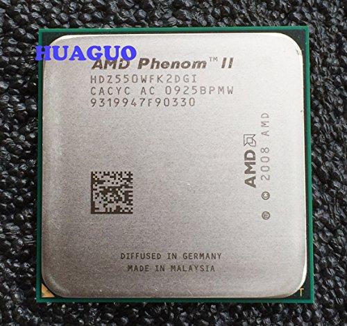 AMD Phenom II X2 550 Black Edition 3.1 GHz 1 MB L2 Cache Dual-Core CPU Processor Socket AM3