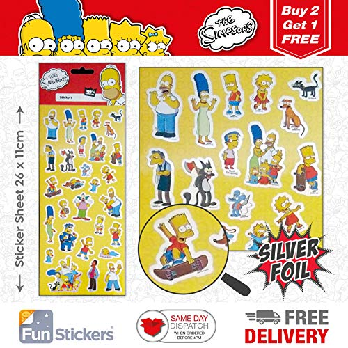 The Simpsons Sticker 1001