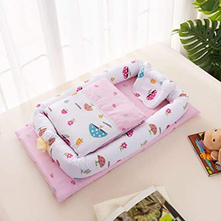 YANGGUANGBAOBEI Cuddly Baby Sleeping Pod Breathable Foam Nest For Newborn And Babies for Bed Portable Baby Nest R