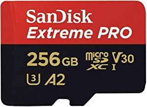 microSDXC 256GB SanDisk サンディスク Extreme PRO UHS-1 U3 V30 4K Ultra HD A2対応 SDアダプター付 [並行輸入品]