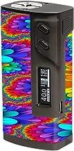 Skin Decal Vinyl Wrap for Sigelei 213W TC Temp Control Vape Mod Skins Stickers Cover / Trippy Hippie 2