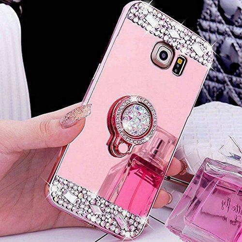 COTDINFOR Samsung S8 + Funda de Espejo Lindo para niñas Case de...