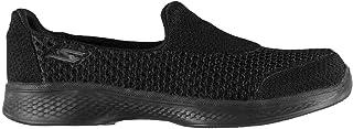 Official Skechers Gowalk 4 Kindle Girls Trainers Black Shoes Footwear