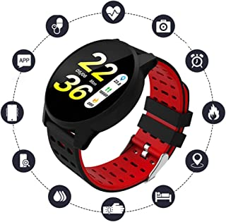 Fitness Tracker Activity Tracker with 1.3Inch IPS Screen Long Battery Life Waterproof Smart Watch with Sleep Monitor Step Counter Calorie Counter Smart Bracelet for Women Men