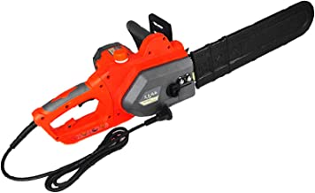 Sierra de cadena eléctrica de alta potencia sierra eléctrica para exteriores, sierra de podar con sierra de cadena manual, sierra de corte pequeña, utilizada para cortar madera y metal