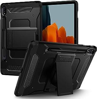 Spigen Tough Armor PRO designed for Samsung Galaxy Tab S7 case/cover - Black