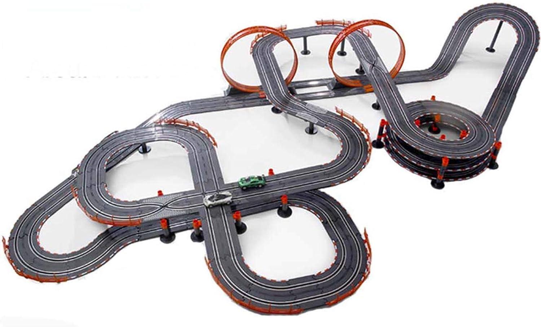 LINGLING Track Racing Toy Slot Car/Car Racing Toy/Rotating Big T
