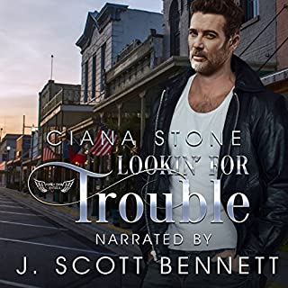 Lookin' for Trouble audiobook cover art