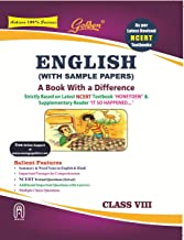 Golden English: (With Sample Papers) A book with a Difference for Class- 8 (For 2021 CBSE Final Exams)