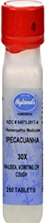 Ipecacuanha 30X (Nausea & Vomiting) Hylands 250 Tabs