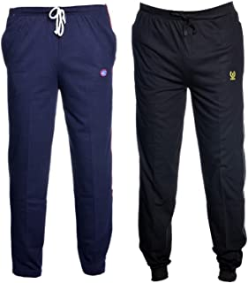 VIMAL JONNEY Men's Cotton Blended Trackpants -Combo(Pack of 2)