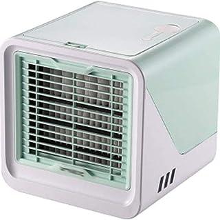 Mini Enfriador de Aire Mini refrigerador de aire hogar dormitorio oficina ventilador de aire acondicionado portátil pequeño enfriador de escritorio USB ventilador (4 colores,165 mm * 165 mm * 170 mm)