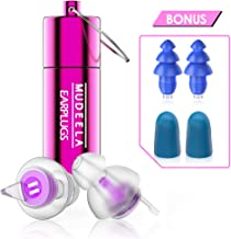 [Upgrade Version] High Fidelity Concert Earplugs - Hearing Protection Ear Plugs for Concerts, Musicians, Motorcycle - Noise Reduction Music High Fidelity Ear Plugs - Reusable Musician Earplugs, Purple