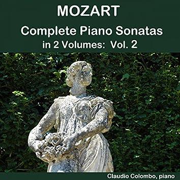 Mozart: Complete Piano Sonatas in 2 Volumes, Vol. 2