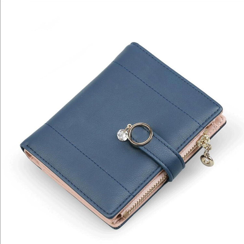 Brieftasche ZLR Frau Dame Wallet Dame Short Section Reißverschluss Thin Wallet Student Wallet B078KDBQP9