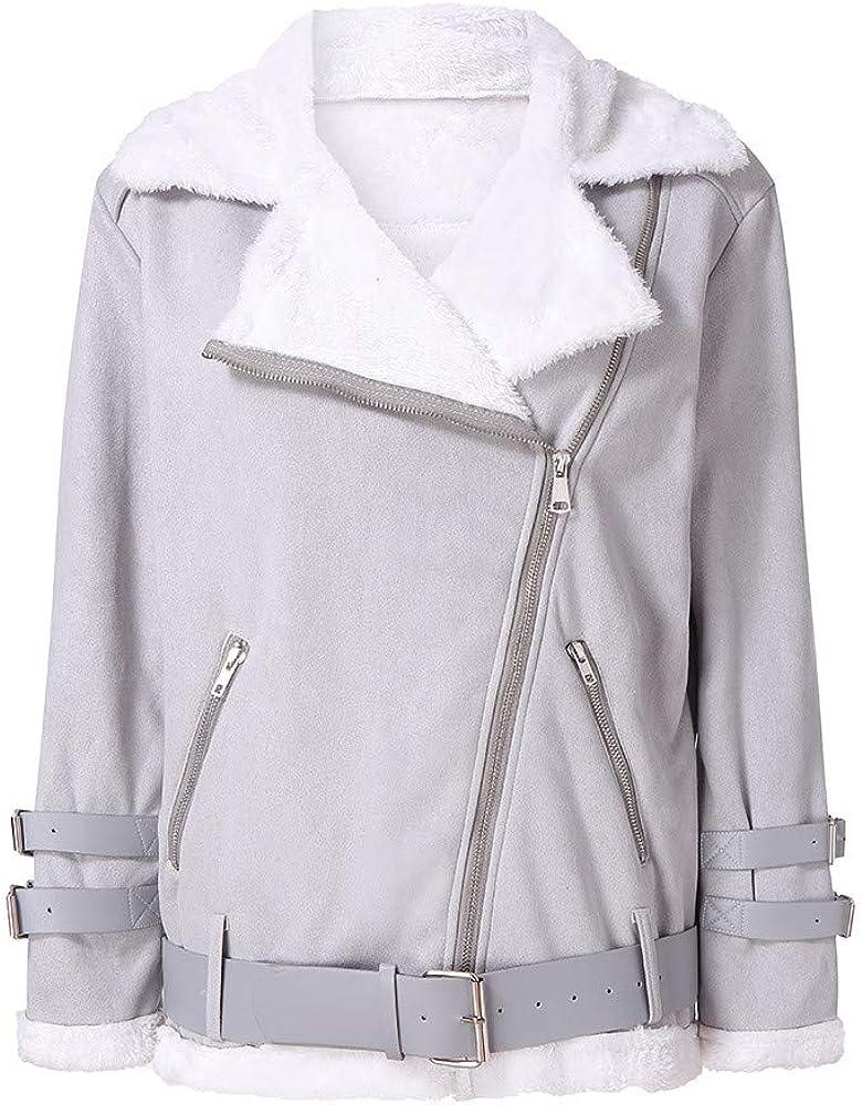 Women specialty shop Popular product Fashion Winter Warm Coat Faux Outwear Fleece Fur