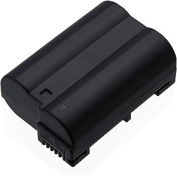 Powerextra ニコン Nikon EN-EL15 純正互換バッテリー Nikon D7100 D750 D7000 D7200 D7500 D810 D610 D800 D850 D600 D800E D810a 1v1 対応 残量表示可能&純正充電器対応
