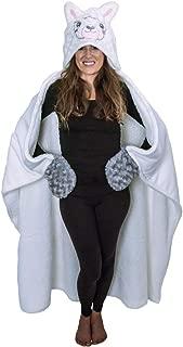 Thnapple Alpaca Llama Hooded Blanket