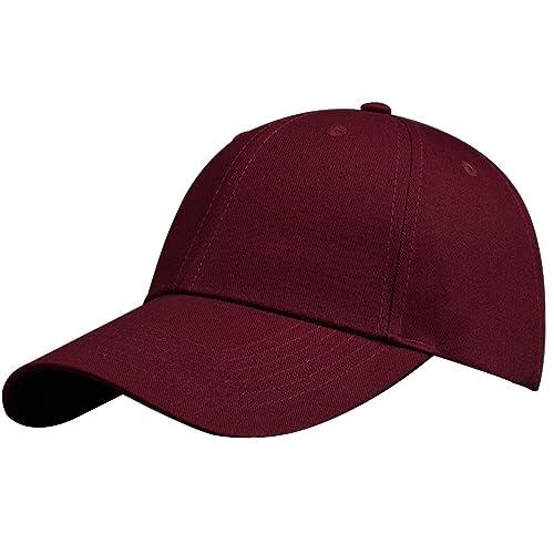 Mojing Classic Baseball Cap Dad Hat Trucker Cap Adjustable Plain Sport Hats  for Men and Women cfd45a72da7f