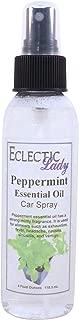 Peppermint Essential Oil Car Spray, 4 ounces