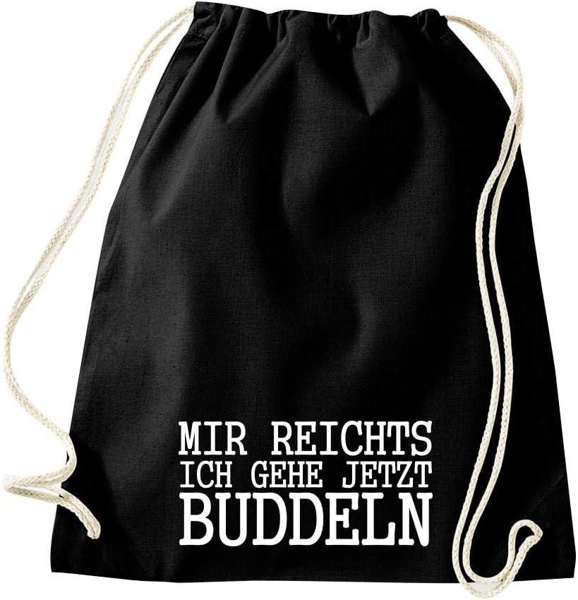 Shirtinstyle Gym Sack Turnbeutel Sportbeutel Spr/üche Motive ausw/ählen
