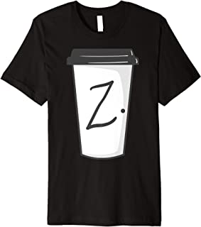 Twin Peaks Z On a Coffee Cup Premium T-Shirt