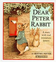 Dear Peter Rabbit: A Story with Real Miniature Letters