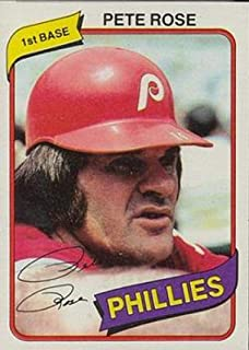 1980 topps pete rose card