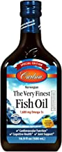 Carlson - The Very Finest Fish Oil, Special Edition, 1600 mg Omega-3s, Liquid Fish Oil Supplement, Norwegian Fish Oil, Wil...