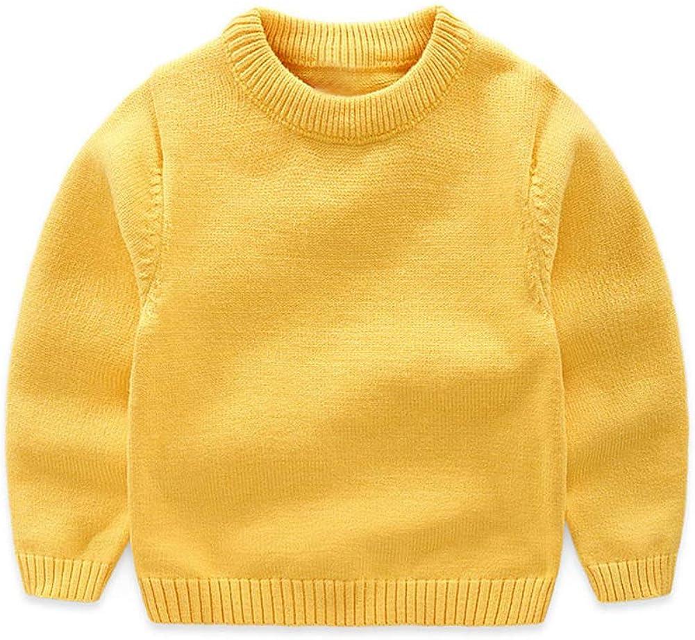 Mud Kingdom Toddler Boy Pullover Sweater Warm Winter Yellow 2T