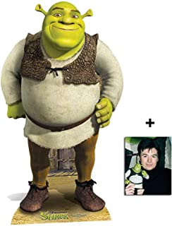 Fan Pack - Shrek Lifesize Cardboard Cutout / Standee / Standup Includes 8x10 (20x25cm) Photo