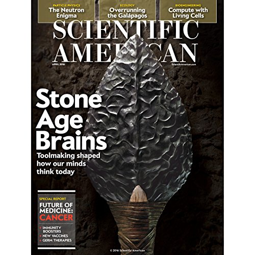 Scientific American, April 2016 audiobook cover art