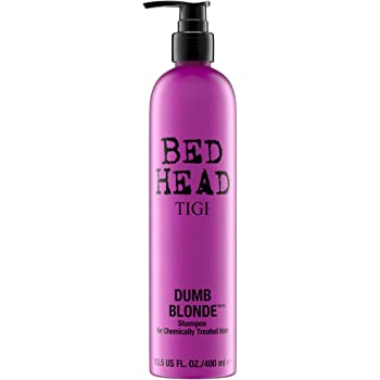 TIGI Bed Head Dumb Blonde Shampoo, 13.5 Ounce