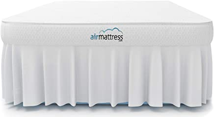 Air Mattress Full Size - Best Choice Raised Inflatable Bed with Fitted Sheet and Bed Skirt