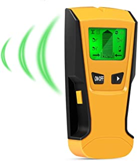INTEY 下地センサー 下地探し 壁うら探し 壁検出器 大型LCDスクリーン 多機能の壁検出器 金属 木材 AC電源の位置探知 家庭に適しています