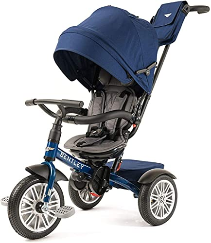 BENTLEY 6-in-1 Baby Stroller/Kids Trike/Baby TRYCYCEL/Baby CYCEL with BENTLEY Bag - Sequin Blue