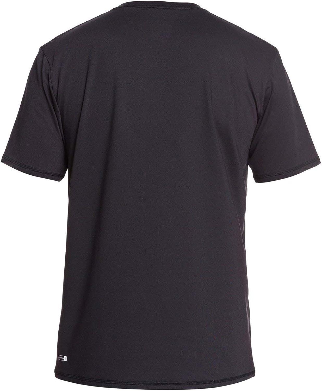 Quiksilver Herren Solid Streak Ss Short Sleeve Rashguard Surf Shirt Rash Guard Hemd