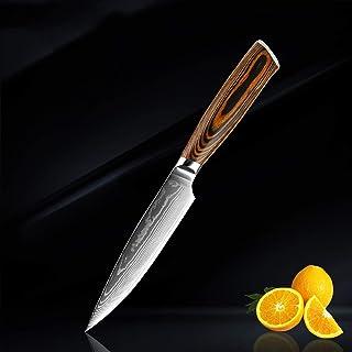 Couteau de cuisine Couteau Set de haute qualité 67 couches Damascus acier à cale de viande d'acier épluchant des outils de...