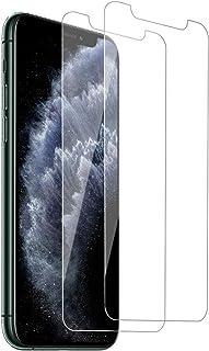 【2枚セット】iPhone11 Pro Max/ iPhone Xs Max ガラスフィルム 強化ガラス フィルム 高透過率 アイフォン11 Pro Max/Xs Max 液晶保護フィルム 日本旭硝子製/硬度9H/全面保護/指紋防止/飛散防止/...