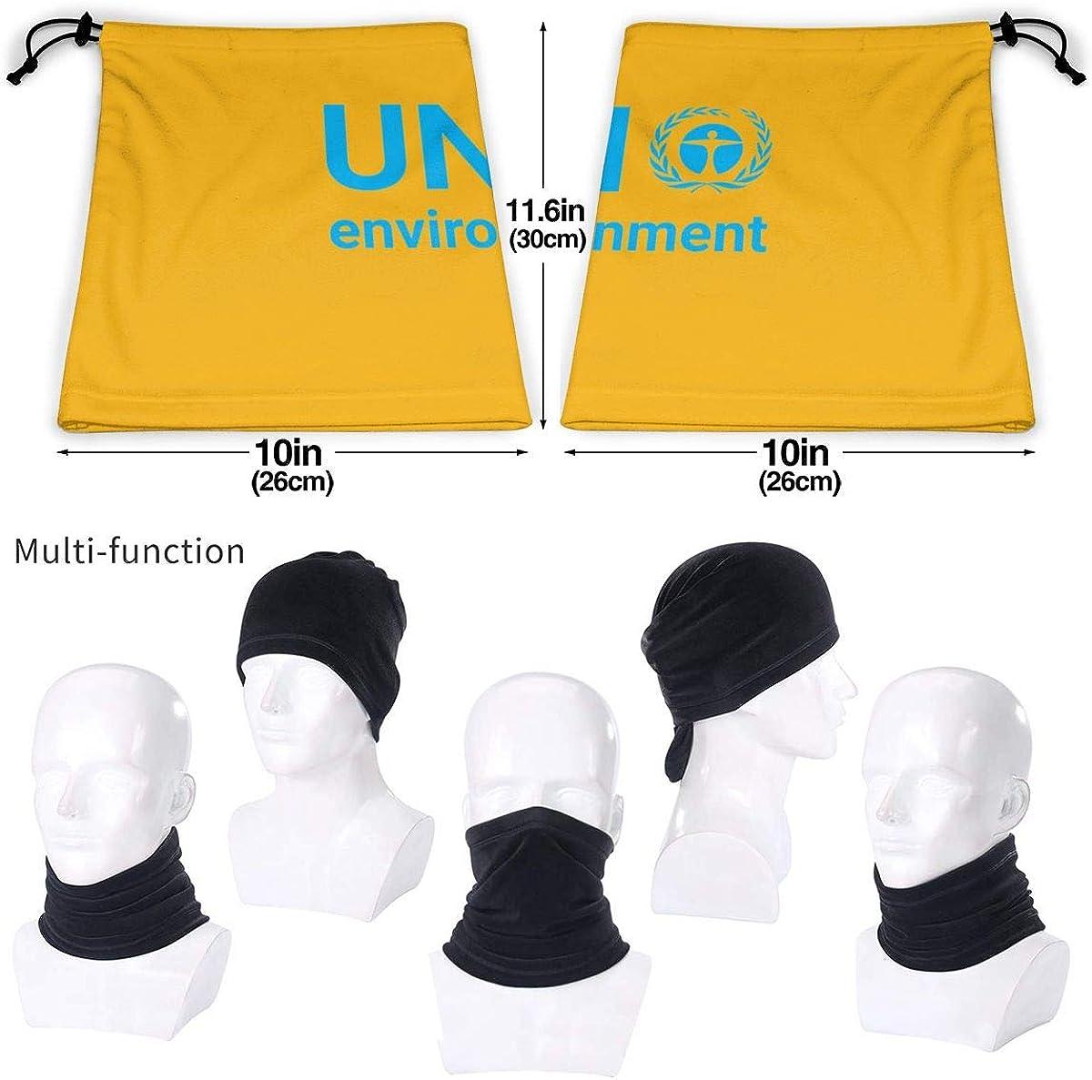 Wolrd Environment Day2 Black Multi-function Neck Warmer Gaiter Polyester Neck Warmer Windproof Winter Neck Gaiter Cold Weather Scarf For Men Women