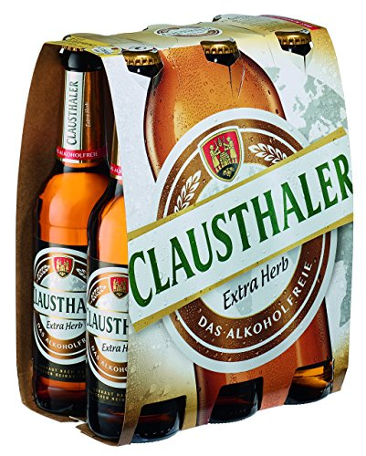 Clausthaler Extra Herb Alkoholfrei MEHRWEG, (6 x 0,33 l)
