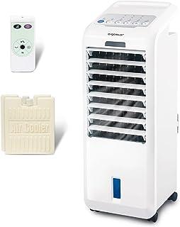 comprar comparacion Aigostar Climatizador evaporativo con mando a distancia, 55W, función humidificador de aire, oscilante, 3 modos y 3 veloci...