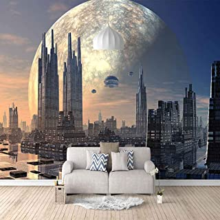 VITICP Adults Kids Wall Stickers Decals Peel and Stick Removable Wallpaper Urban high-Rise Buildings for Nursery Bedroom L...