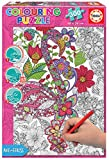 Educa Borras - Serie Colouring Puzzle, Puzzle para colorear, 300 piezas Flamenco, Ref (18474)