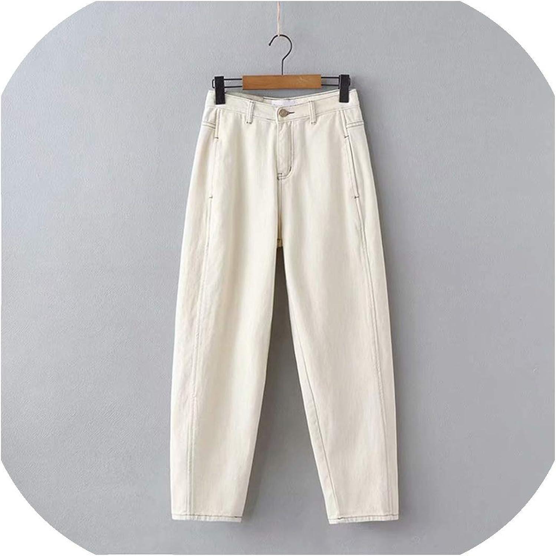 Feing Atlanta Mall Boyfriend Jeans for Women High Wholesale Waist Harem Pan Loose