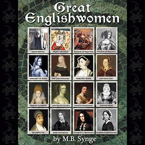 Great Englishwomen audiobook cover art