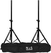Kit van 2 voeten luidspreker 35mm max 45 kg + draagtas NJS063DE