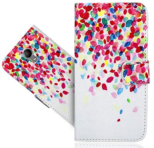FoneExpert® Wiko Robby Handy Tasche, Wallet Hülle Flip Cover Hüllen Etui Hülle Ledertasche Lederhülle Schutzhülle Für Wiko Robby