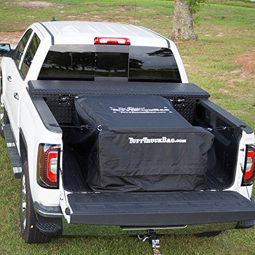 Tuff Truck Bag - Black Waterproof Truck Bed Cargo Carrier, 40'' x 50'' x 22''