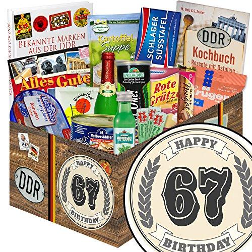Geschenke zum 67 Geburtstag Freund + Ossi-Set + Geschenk zum 67.